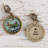Travel  Junk  Market  Vintage  Hobby  Charm  From  Natural  Life