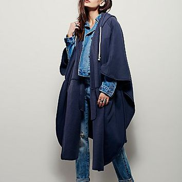 Free People Womens Peace Out Poncho