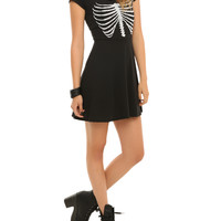 Teenage Runaway Rib Cage Caviar Dress