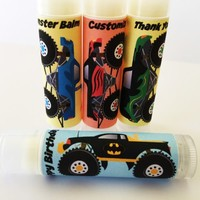 Monster Truck Custom Lip Balm – Free Customization
