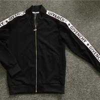 SPBEST Replica UA Givenchy zipper jacket (Givenchy written on the sides of the sleeves)