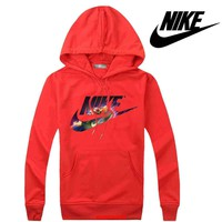 Nike Women Men Casual Long Sleeve Top Sweater Hoodie Pullover Sweatshirt-5