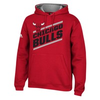 adidas Chicago Bulls Fan Gear Pullover Hoodie