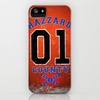 The Duke's a Hazzard! iPhone Case by John Medbury (LAZY J Studios) | Society6