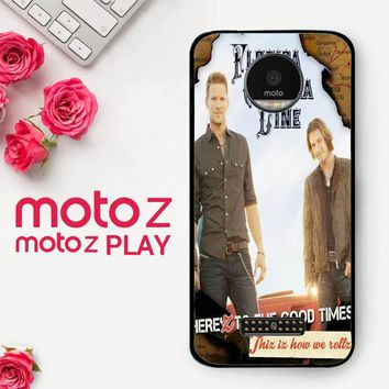 Florida Georgia Line X0353  Motorola Moto Z Play Case
