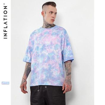 ONETOW INFLATION Loose Hip Hop Streetwear Oversize T Shirts