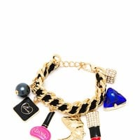 In Love With A Diva Charm Bracelet