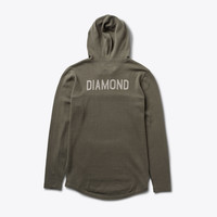 Diamond Supply Co. - Jackson Pullover Hoodie - Olive