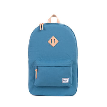 Herschel Supply Co. Heritage Backpack Cadet Blue 12 oz. Cotton Canvas