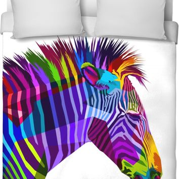 ROB Zebras Duvet Cover