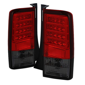 Scion XB 03-07 Version 2 LED Tail Lights - Red Smoke