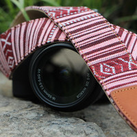 Leather Camera Strap,DSLR/SLR Camera Strap, Bohemia Strap for Nikon/Canon/Sony