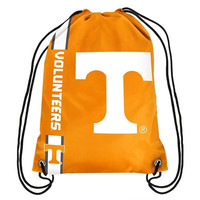 TENNESSEE VOLUNTEERS Official NCAA Team Logo Drawstring Backpack