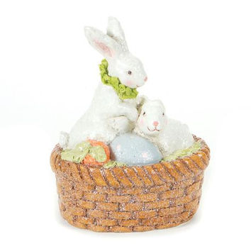 "4 Easter Decorations - 10.5 "" H X 8 "" W"