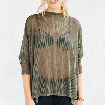 Silence + Noise Between The Lines Mock-Neck