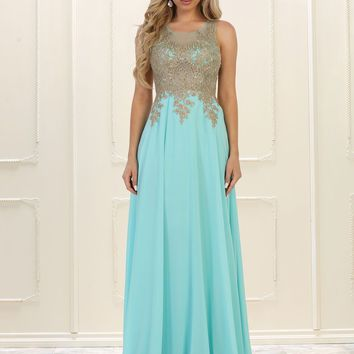 Plus Size Prom Dress Long Formal Evening Gown