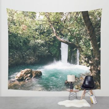 Chasing Waterfalls Wall Tapestry by Gallery One