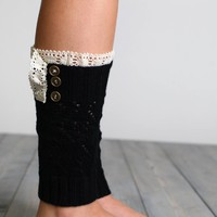 Crotchet Lace Boot Cuffs