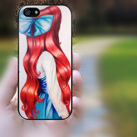 iphone 5s case,iphone 5 case,iphone 5c case,iphone 5s cases,iphone 5 cases,iphone 5c case,cute iphone 5s case--ariel,in plastic.