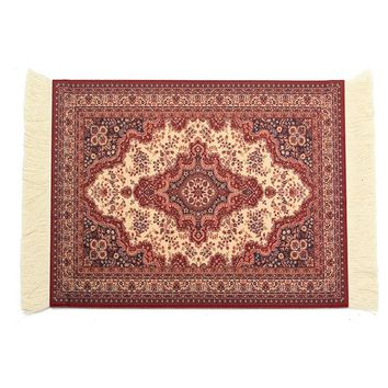 180 x 280mm Carpet Woven Rug Gaming Mouse Pad Vintage Persian Style Mouse Mat Mouse Mat Gift For Computer Game
