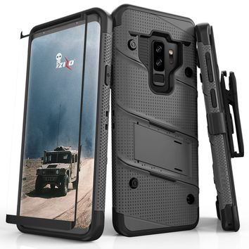 Zizo Bolt Series Best Cell Phone protection case for Galaxy S9 Plus