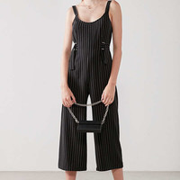 Silence + Noise Wide Leg Buckle Jumpsuit | Urban Outfitters