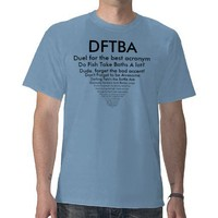 DFTBA TEE SHIRTS from Zazzle.com