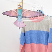 Monki novelty bird clothes hanger in Bird at asos.com