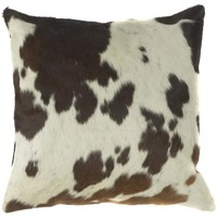 Cow Print Pillow - Throws And Pillows - Home Accents - Home Decor | HomeDecorators.com