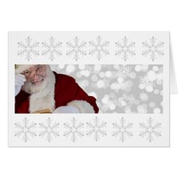 Merry Christmas from Santa! Card
