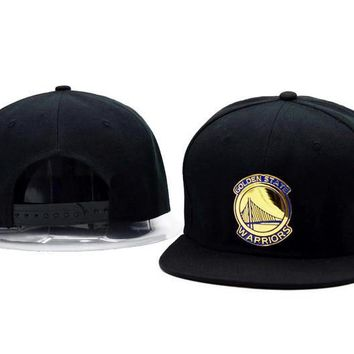 One-nice™ Perfect Golden State Warriors Women Men Embroidery Baseball Cap Hat Sports Sun Hat