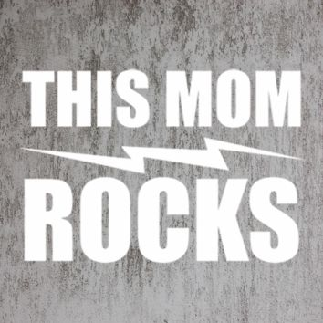 THIS MOM ROCK TANK TOP