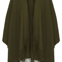 Super-Soft Cape - Khaki