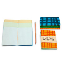 3 Little Notebooks by Tucker Nichols for Plumb