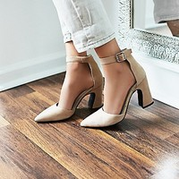 Jeffery Campbell + Free People Womens Sterling Heel