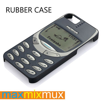 Nokia 3310 Classic iPhone 4/4S, 5/5S, 5C, 6/6 Plus Series Rubber Case