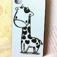 Lovely Cartoon Giraffe Case For IPh.. on Luulla