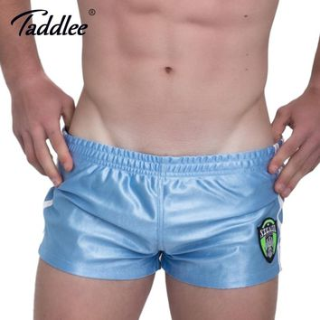 Taddlee Brand Sexy Men's Sports Shorts Running Short Bottoms Beach Board Shorts Boxer Trunks Gym Sweatpants Gasp Jogger Shorts