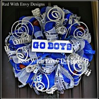 Dallas Cowboys Football Wreath | Red With Envy Designs