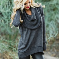 The Tiana Cowl Neck Sweater