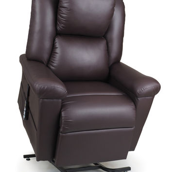 Ultracomfort Stellar Comfort UC680 Daydreamer Power Lift Chair with Power Pillow, Full Lay Out