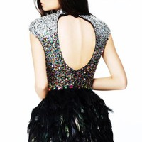 Sherri Hill Short Dress21045 at Prom Dress Shop