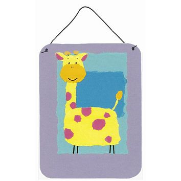 Giraffe Wall or Door Hanging Prints APH8333DS1216