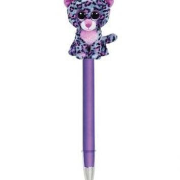 Tasha The Leopard Beanie Boo Pen | Girls {category} {parent_category} | Shop Justice