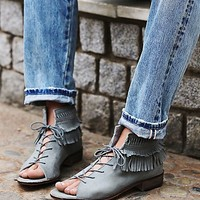 Free People Womens Firefly Lace Up Sandal