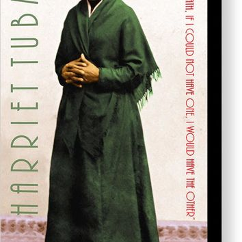 Harriet Tubman 20140210v1 With Text Canvas Print