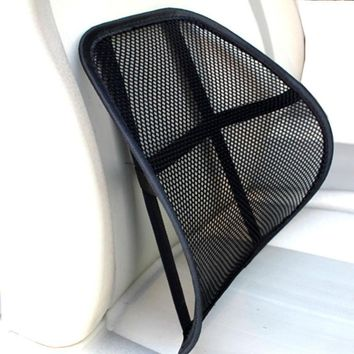 New Arrival Cool & Breathable Mesh Support - Lumbar Support Cushion Seat Back Muscle Car Chair Pain Relief Travel at3