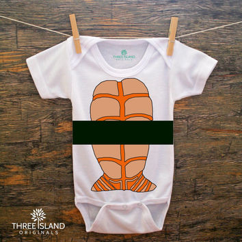 Sushi Halloween Cute and Funny Onesuit for Baby Boy or Girl - Sushi Halloween Costume, romper, bodysuit, cute baby gift under 25