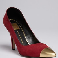 Dolce Vita Pointed Toe Cap Toe Pumps - Selina High Heel | Bloomingdale's