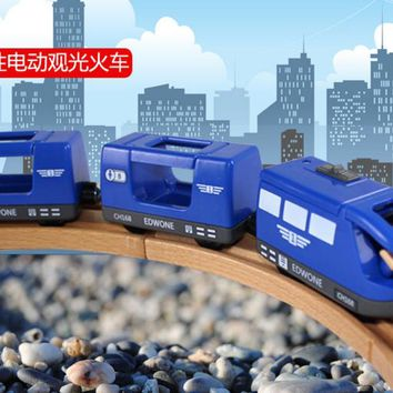CRH Harmony number NEW wooden track Trailer Thomas and friend MAGNETIC Electric locomotive head CRH